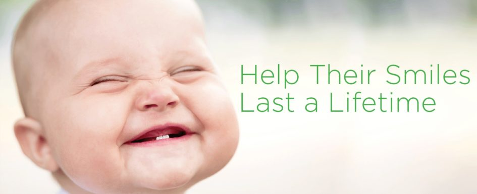 Waterloo Dentist - Erbsville Dental - A baby smiling